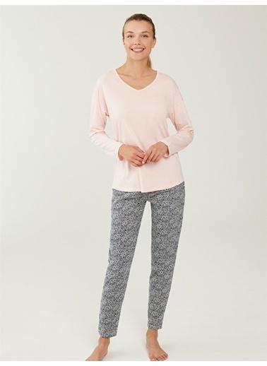 Mod Collection Pijama Takım Somon
